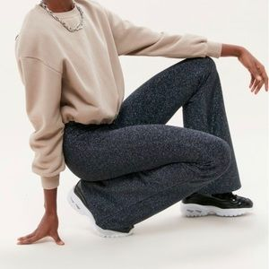 Urban Outfitters Sparkle Bell bottoms